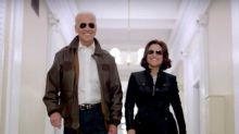 Joe Biden le muestra su apoyo a Julia Louis-Dreyfus