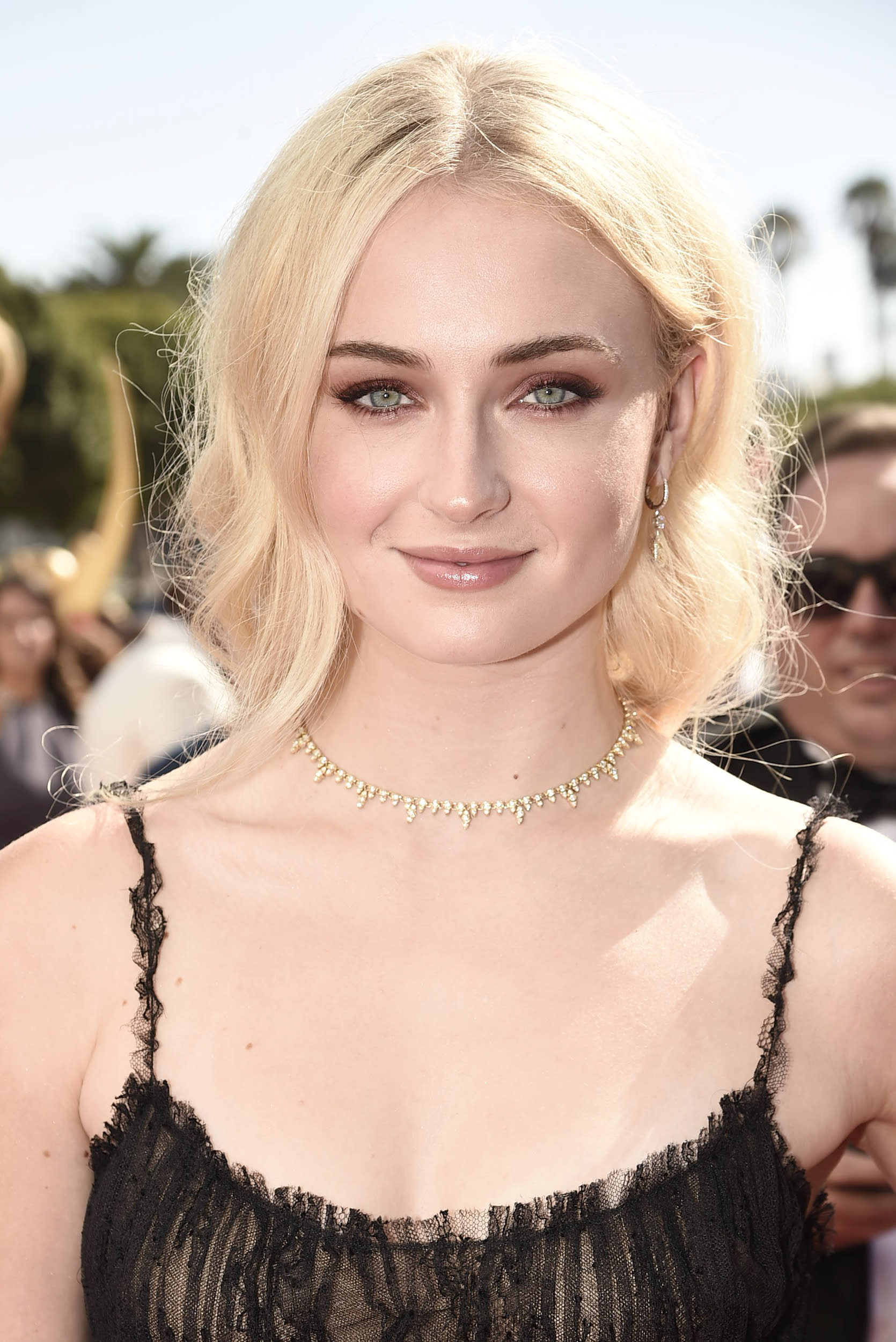 EXCLUSIVE - Sophie Turner arrives at the 68th Primetime Emmy Awards on Sunday, Sept. 18, 2016, at the Microsoft Theater in Los Angeles. (Photo by Dan Steinberg/Invision for the Television Academy/AP Images)