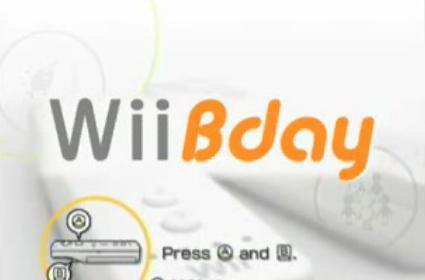 Wii Play turns into Wii Bday