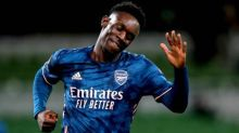 Arsenal's in-demand striker Folarin Balogun close to signing new contract