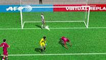 Benzema's goal against Sevilla in 3D