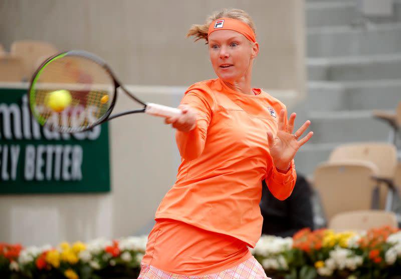 Bertens sets up second-round clash with Errani