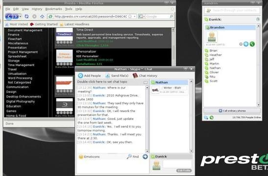 Xandros' instant-on Presto Linux distro now available for download-o