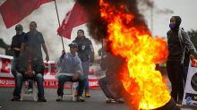 Brazil cities paralysed by anti-austerity nationwide strikes