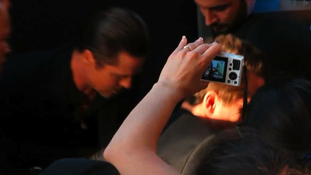 Brad Pitt Attacked At Maleficent Premiere
