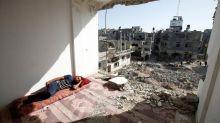FOTOS | Un mes viviendo entre las ruinas en Gaza