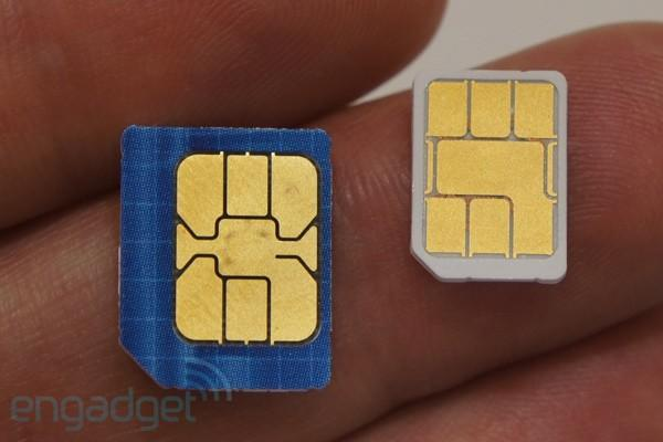 New smaller SIM format gets standardized, shrinks 40 percent (update: Nokia gives bitter OK)