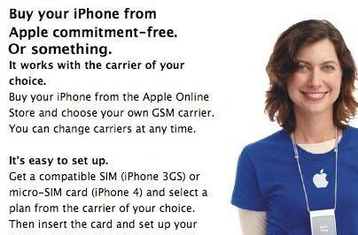 Buying an iPhone 4 from a Canadian carrier? It's locked