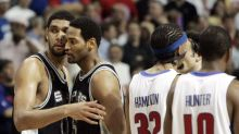 Robert Horry says Hakeem was '20 times better' than Tim Duncan