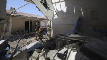 Major wreckage at hospital hit by artillery in north Syria