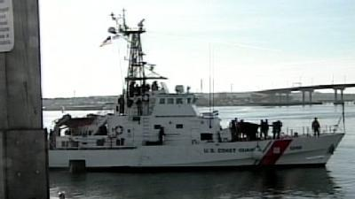 Coast Guard Cutter Moves To New Home