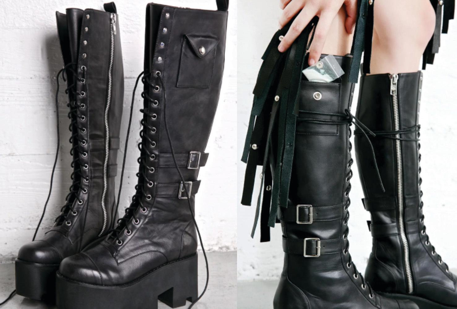d5c1797d29f89 Boots with a cocaine pocket are actually for sale