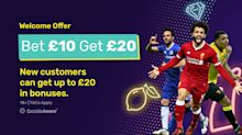 dabblebet offer: Bet £10, get £20 in free bets - new customers only!