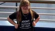 Woman with Down's syndrome says she is 'better off dead' in eyes of the law, ahead of  legal challenge