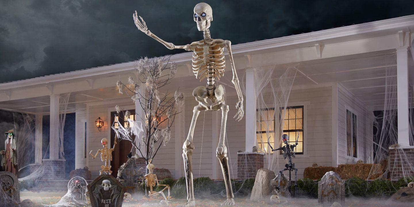 Home Depot Is Selling a 12 Foot Skeleton That Will Be the