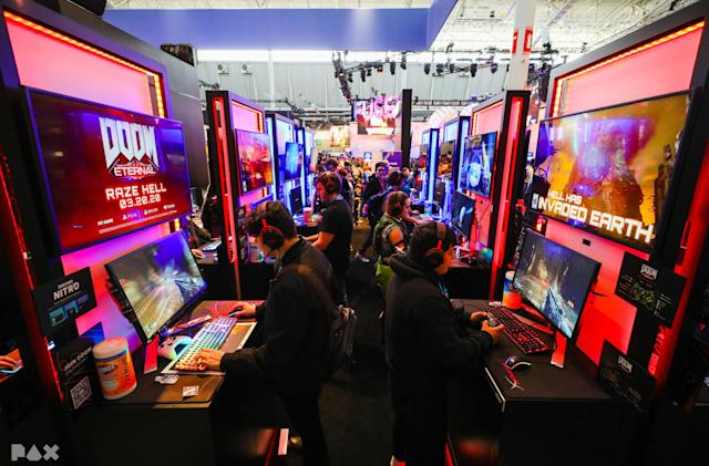 PAX plans a return to in-person events in 2021