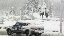 Sandy leaves blizzard conditions in W.Va.