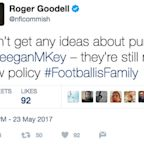 Roger Goodell tweeted a 'Key & Peele' joke after NFL relaxed celebration rules