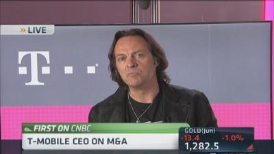 T-Mobile CEO would consider consolidation