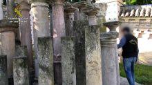Detienen a cuatro personas y recuperan más de 3.700 restos arqueológicos