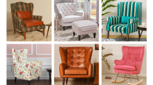 BUY HERE: 10 wing chairs to cosy up with this winter