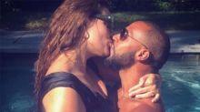 Ashley Graham muy sensual con su marido