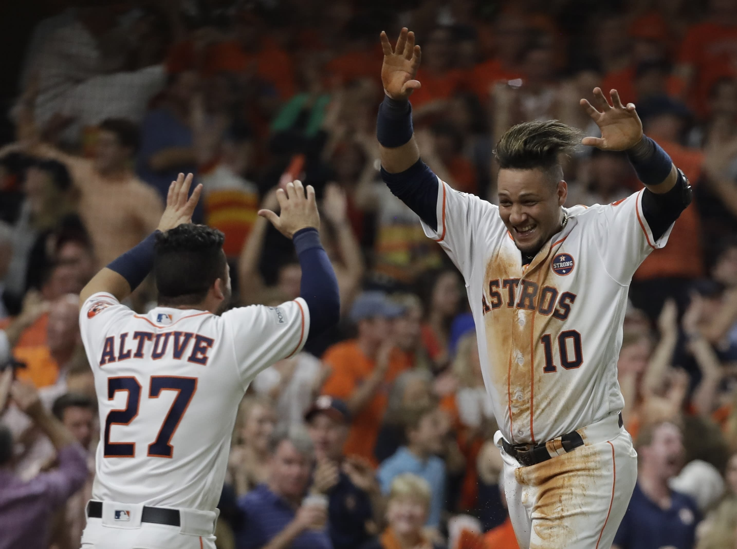 ALCS Game 7: Astros headed to World Series after defeating Yankees
