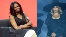 Michelle Obama Recreates Beyoncé's 'Formation' Look