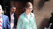 El atrevido look de Olivia Munn es obra de una diseñadora valenciana (y ya está agotado)