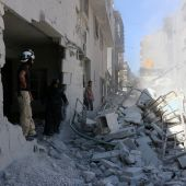 Dozens dead as warplanes pound rebel-held north Syria