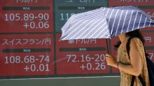 Global shares mostly turn lower again amid trade tensions