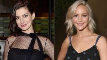 Anne Hathaway Defends Jennifer Lawrence Against the Internet