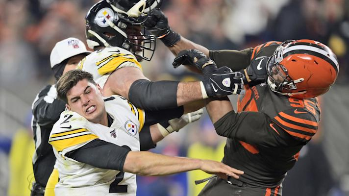 Steelers, Browns brawl on Thursday Night Football