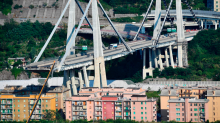 Genoa bridge may take eight months to repair as it emerges designer warned of corrosion risk 40 years ago