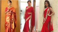Navratri 2018 Day 7 Colour, October 16 – Red: Hina Khan, Aditi Bhatia & Madhuri Dixit Show You How to Look Radiant in the Colour of Love This Festival