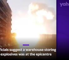 Moment of massive Beirut explosion seen from different angles
