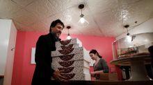 'Why eat like the Bourgeoisie?': Justin Trudeau's doughnut debacle in Winnipeg goes viral