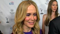 Sarah Paulson's Emmy Fashion Lesson and Return To 'American Horror Story'