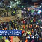 Death toll climbs in Mexico after powerful quake