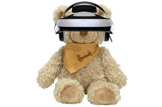 Sony's 3D HMD goes exclusive for Harrods, leaves America waiting