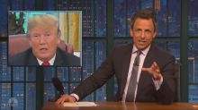 Late-night hosts show zero tolerance for Trump's immigration debacle
