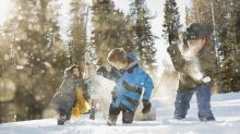 Niños seguros en la nieve, con estos tips