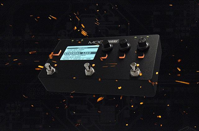 MOD's latest effects pedal makes advanced sounds more accessible