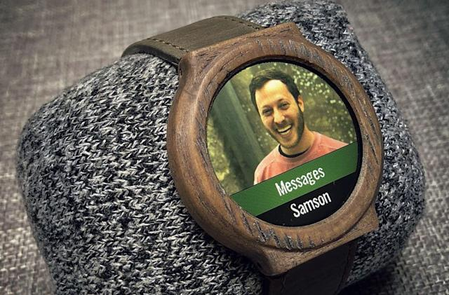 This guy built his own smartwatch and so can you