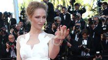"""Uma Thurman amenaza a Harvey Weinstein en un mensaje del Día de Acción de Gracias: """"No te mereces ni una bala"""""""