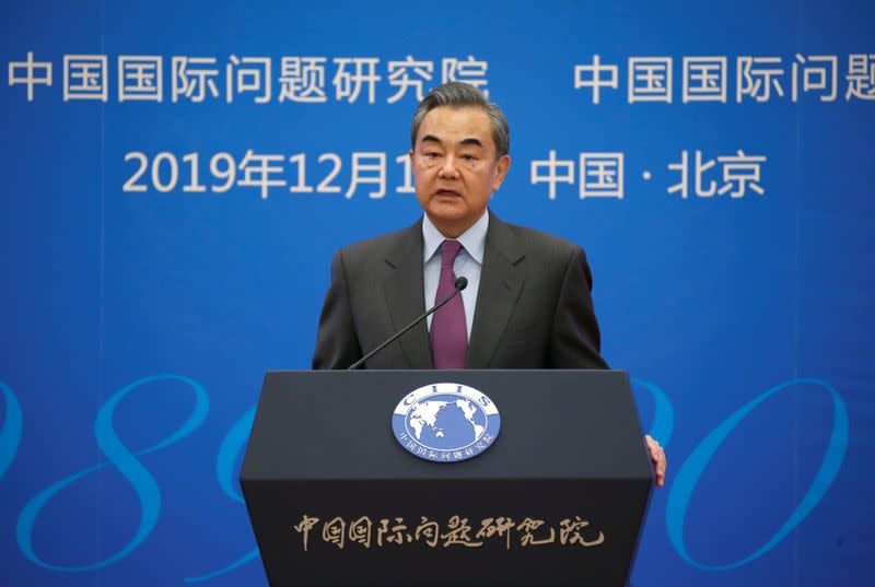 China top diplomat says China-U.S. trade deal good news for all