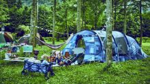 萬綠叢中一抹藍 體驗無邊界的靛藍露營風格