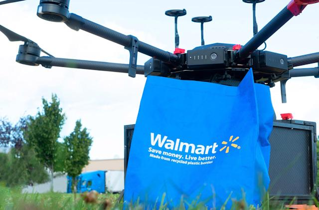 Walmart launches a drone delivery program in North Carolina