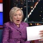 What The Heck Did Stephen Colbert Just Show Hillary Clinton?