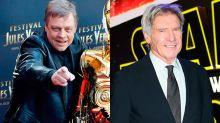 Mark Hamill recrea cómo debería haber sido el reencuentro de Luke y Han Solo (que ya no veremos nunca)